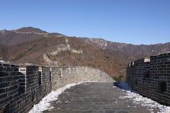 стена mutianyu фарфора Пекин большая Стоковые Изображения