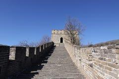стена mutianyu фарфора Пекин большая Стоковое фото RF