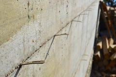 Стена oncrete ¡ Ð с форма-опалубкой Стоковые Изображения RF