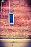 стена payphone кирпича Стоковое Изображение RF