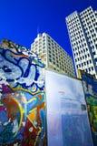 стена potsdamer platz Стоковое Изображение