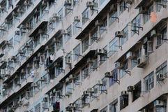 стена tenement дома стоковые фото