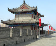 стена xian города Стоковое Изображение