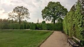 Стенд в парке города Стоковые Фото