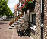 Стенд для голландской дома канала Стоковые Изображения RF