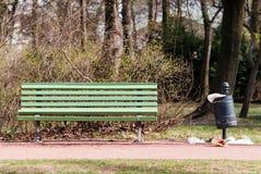 стенд может congested парк отброса Стоковые Изображения RF