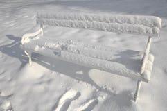 стенд снежный Стоковое Фото