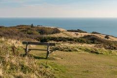 Стенд с видом на море стоковая фотография