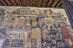 Стенная роспись в монастыре Rozhen, Болгарии стоковые фото