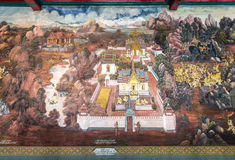 Стенная роспись Стоковые Изображения