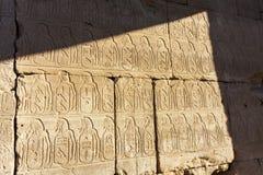 Стенные росписи усыпальницы ферзя Hatshepsut Стоковая Фотография RF