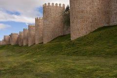 Стены Авила стоковые фотографии rf