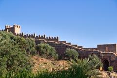 стены башни kellah Стоковые Фото
