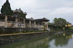 Стены бывшего павильона Thai Binh Стоковое Фото