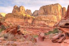 стены выветренные каньоном Стоковая Фотография RF