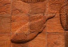 стены гончарни рыболовства фольклорные Стоковое фото RF