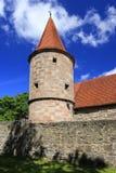 стены города средневековые Стоковые Фото