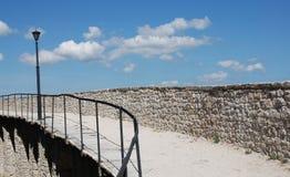 Стены города Motovun Стоковое фото RF