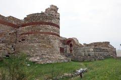Стены городища Стоковое Фото