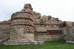 Стены городища Стоковое Изображение RF