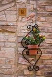 Стены Италии стоковая фотография