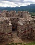 Стены и артефакты крепости Peristera в Болгарии Стоковые Фото