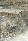 Стены каменной ямы Стоковое Фото