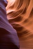 стены каньона антилопы стоковое изображение