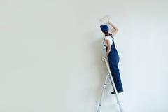Стены картины женщины Стоковые Фото