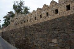Стены окружая старый город Стоковая Фотография RF
