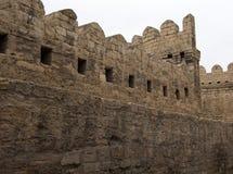 Стены окружая старый город Стоковая Фотография