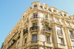Стены дома с балконами Стоковое Изображение RF