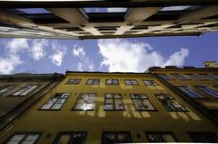 Стены старого городка Стоковое Фото