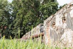 Стены старого карамболя Стоковое Изображение