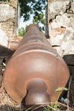 Стены старого карамболя Стоковые Фото