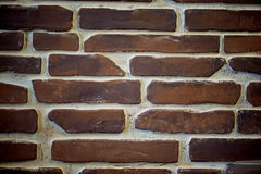 Стены старого красного кирпича стена текстуры кирпича старая Стоковые Фото