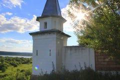 Стены старого монастыря стоковое изображение