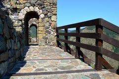 Стены старого форта стоковые фото