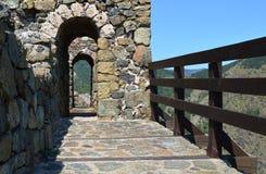 Стены старого форта стоковое изображение