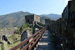 Стены старого форта стоковое фото rf