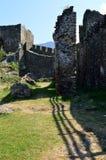Стены старого форта стоковое фото