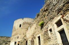 Стены старой крепости каменные Стоковое Фото