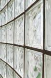 Стены стеклянного блока Стоковые Фото
