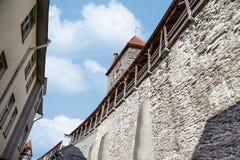 Стены Таллина Стоковая Фотография