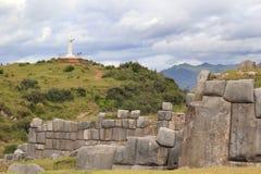 стены jesus inca Стоковое фото RF
