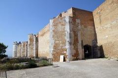 Стены Lucera стоковое фото