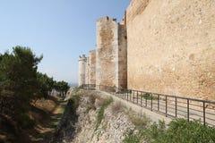 Стены lucera стоковое фото rf