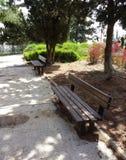 2 стенда в парке Стоковая Фотография RF