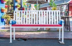 Стенд в парке покупок Стоковые Изображения RF