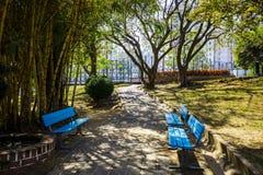 Стенд в парке Стоковое Изображение RF